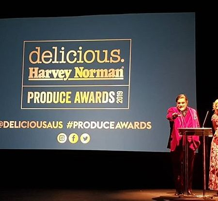Chris Bolton Fisherman Wins delicious Harvey Norman Produce Awards